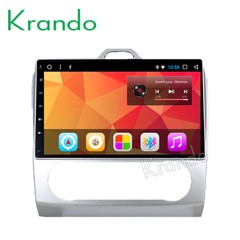 """Krando Android 8.1 10.1"""" IPS Full touch Big Screen car Multmedia system for FORD FOCUS 2005-2007 audio player gps navigation"""