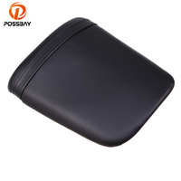 POSSBAY Black Motorcycle ABS Leather Cushion Rear Seat for Honda F5 2007 2012 Motorcycle Rear Seat Pad Accessories