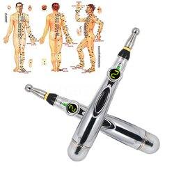 Nuevo lápiz láser electrónico de acupuntura para alivio del dolor, pluma apta para Meridianos, masaje de energía, masajeadores para la salud, la cabeza, el cuello y las piernas