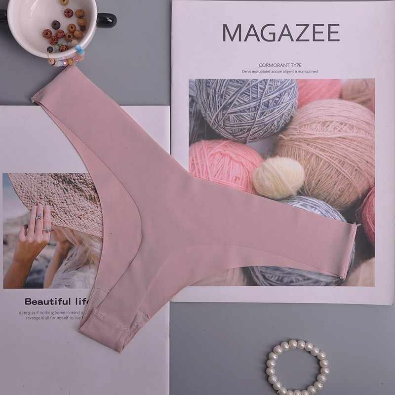 Hot ผ้าไหมผู้หญิงเซ็กซี่ Thongs g string กางเกงไม่มีรอยต่อชุดชั้นในหญิงกางเกง Tanga Low-Rise ชุดชั้นในกางเกงชุดชั้นในสตรี 1pcs ac125