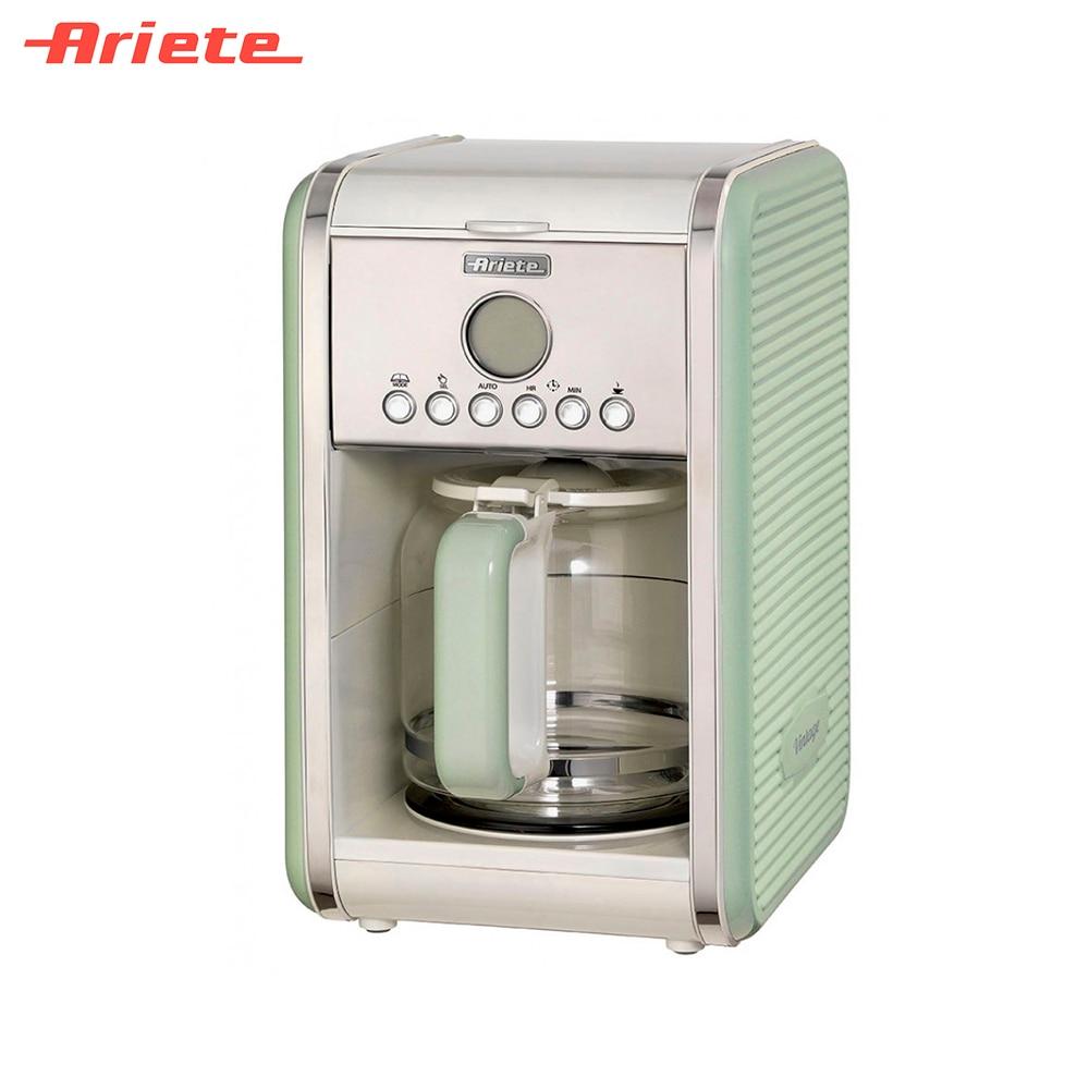 Coffee Makers Ariete 8003705114142 Home Appliances Kitchen Appliances maker machine capucino espresso late eco friendly convenience automatic yogurt maker machine 15w 1l