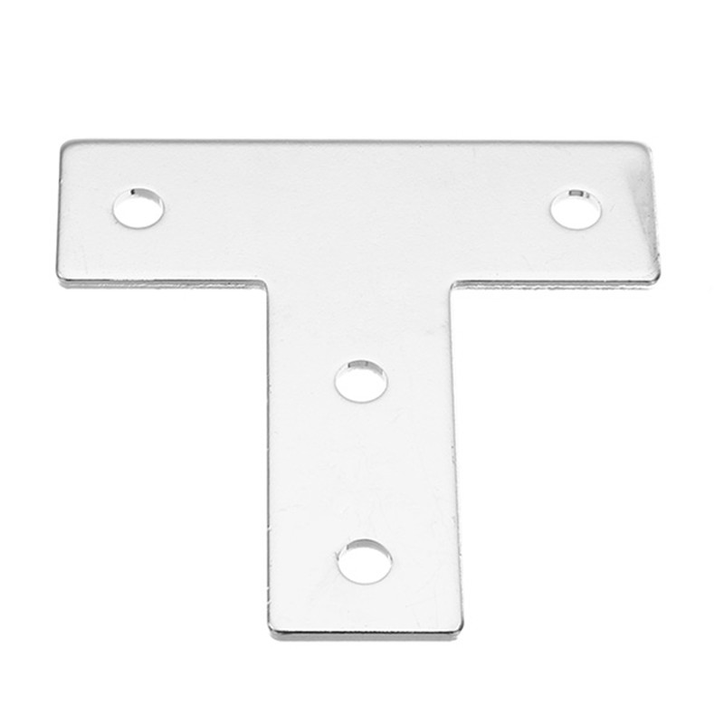 1pc 3030T T Shape Corner Connector Connecting Plate Joint Bracket For 3030 Aluminum Profile Durable