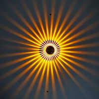 En aluminium led éclairage mural Intérieur appliques murales Moderne led lampe Murale lampe de chevet Arandela Wandlamp Applique Murale Luminaire