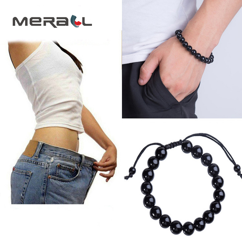 Slim Bracelet Weight Loss Fat Burning Anti Cellulite Man Woman Balance Physical Therapy New Black Chinese Health Stone Products