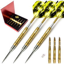 New CUESOUL 9 Colors 23g Professional Tip Steel Darts With Tungsten Dart Body And Aluminum Dart Shafts