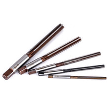 5pcs Hand Reamer H8 Chucking Straight Shank Alloy Tool Steel Reamers Set 6 Flutes 4mm/5mm/6mm/8mm/10mm Mayitr