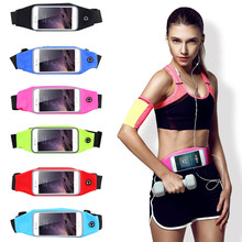 KISSCASE 4.7 inch Waterproof Sports Running Pouch Waist Pocket Belt Case For iPhone 7 4S 5S SE 6 6S Mobile Phone Bags Cover