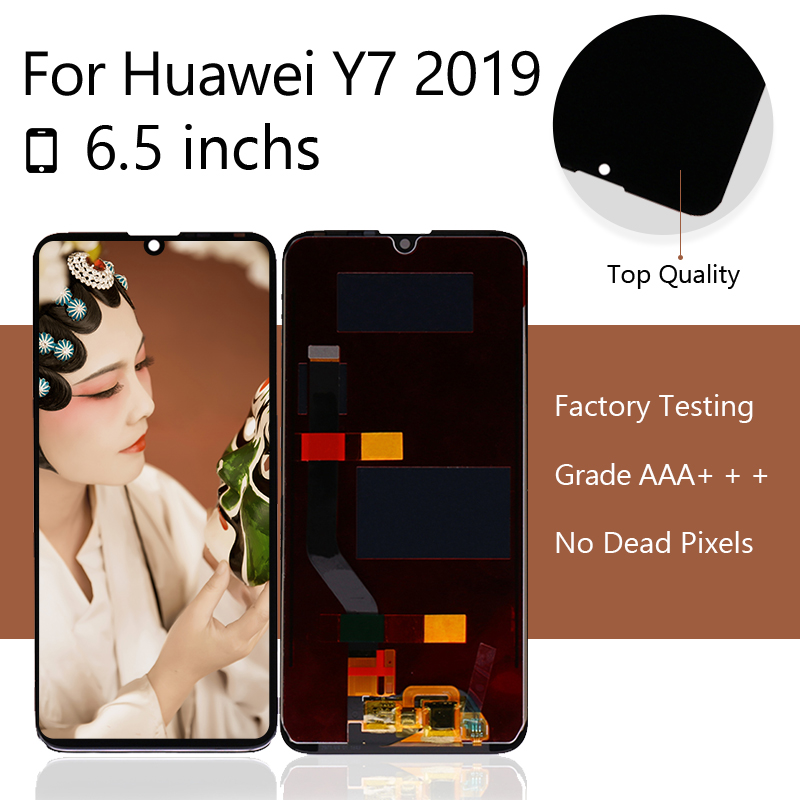 10pcs/lots For Huawei P30 LCD Screen Display Touch Panel Digitizer For Huawei P30 ELE-L29 ELE-L09 Display Screen LCD Shipping Fr(China)