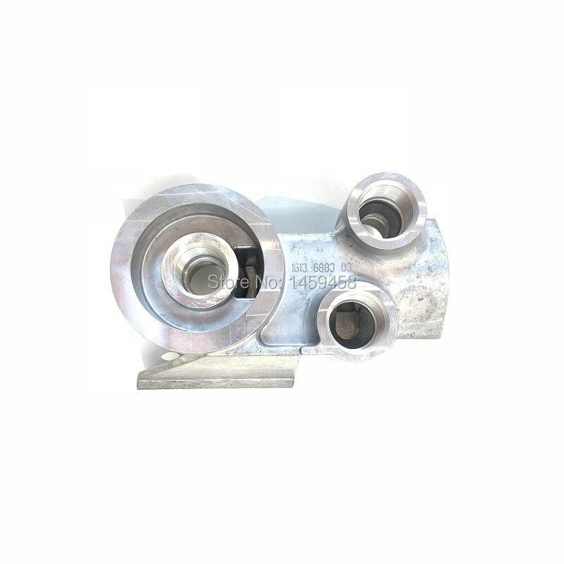 Livraison gratuite authentique ou alternatif 1613688303 (1613-6883-03) filtre à huile soupape sous-sol pour GA15 vis AC compresseur d'air