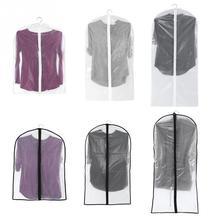EVA одежда пылезащитный чехол Одежда сумка протектор пальто протектор с молнией для одежды костюм платье пальто куртка