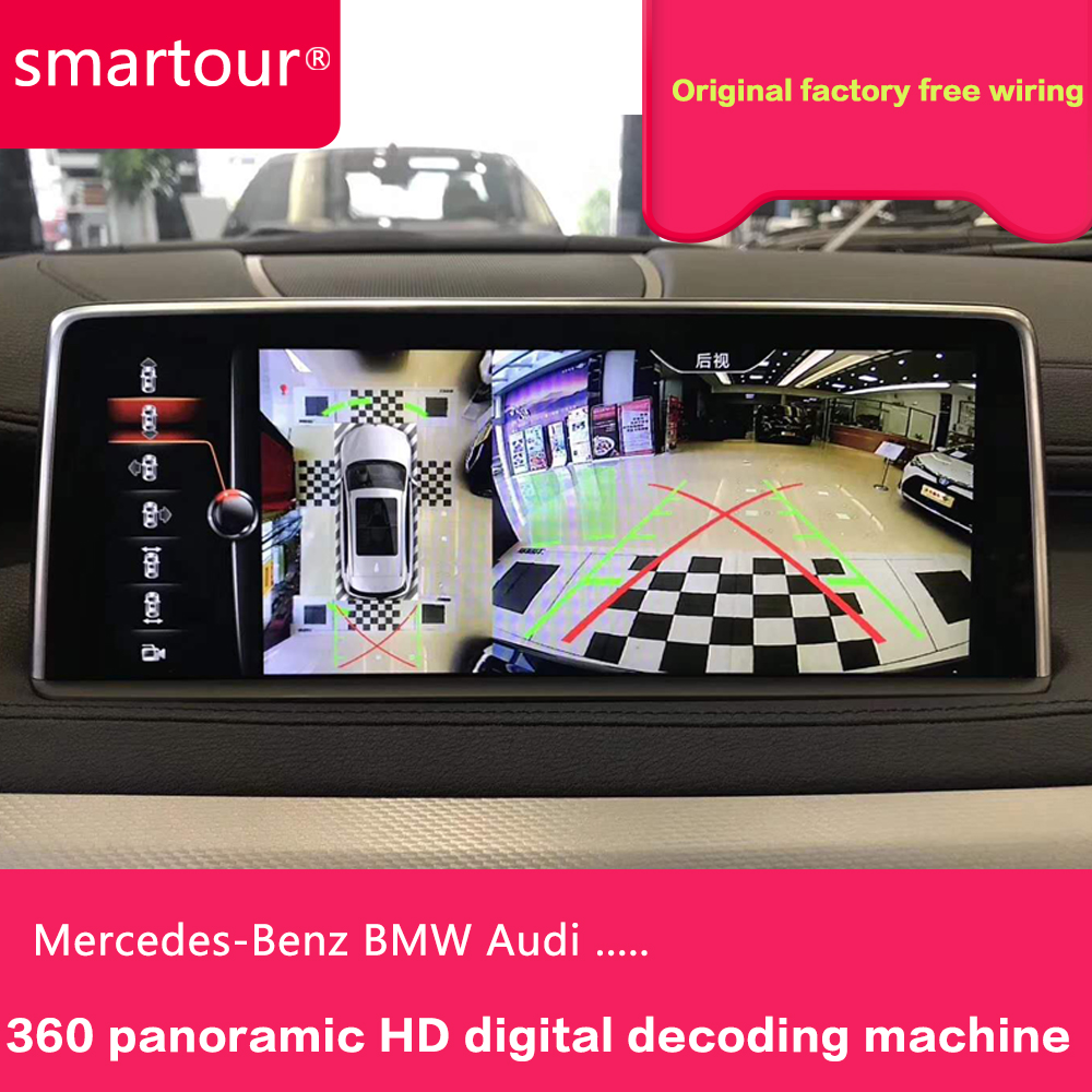 Smartour for BMW EVO system X1 X3 X4 X5 Surround view 360