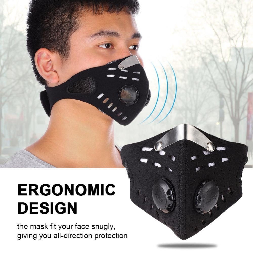 Zacoo 3 In 1 Outdoor Full Face Mask Neck Cover Earmuff Dustproof Warm Mask For Winter 2018 Winter New Design Anti-wind San0 Men's Masks
