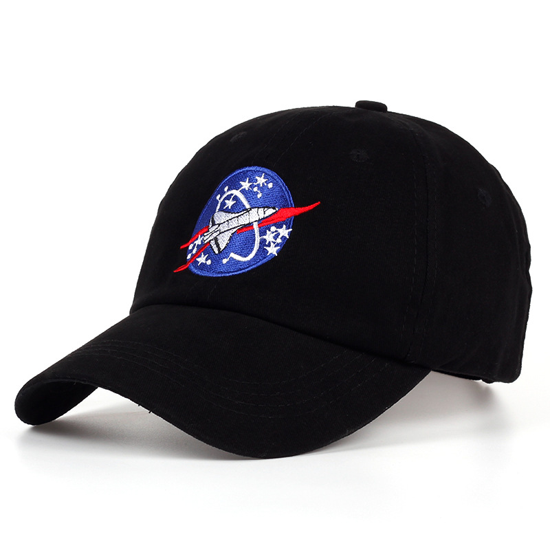 2018 New Spacex Outer Space Fans Universe Spacecraft Spaceman Explorer  Cotton Baseball Cap Hat Touca Women 5a477dbeb3f7