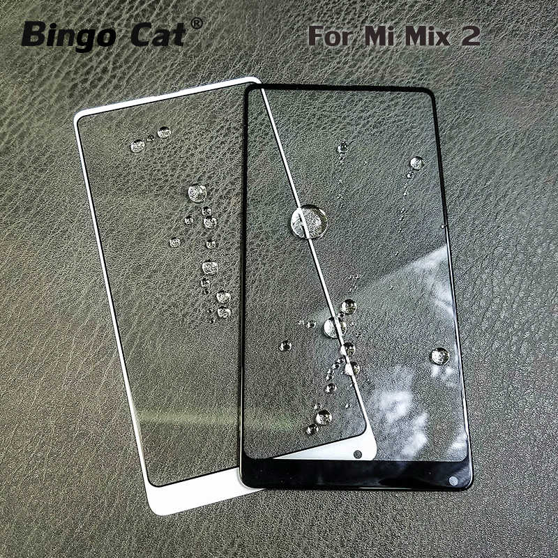 AAA+ New Front Outer Glass Lens for Xiaomi Mi Mix 2 2 LCD Display Touch Screen Panel External Cracked Glass Replacement