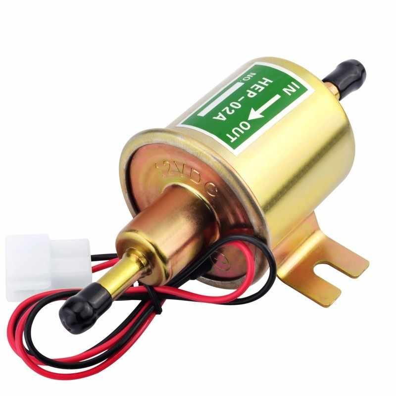 SPEEDWOW الذهب الديزل البنزين البنزين الكهربائية 12 V الوقود مضخة الضغط المنخفض HEP-02A ل سيارة المكربن دراجة نارية ATV عالية الجودة