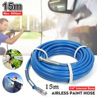 15m Airless Hose 5000PSI High Pressure Pipe Airless sprayer Airless Paint Hose For Sprayer Gun Sprayer Water