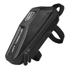 Bolsas impermeables para bicicleta de goma EVA, paquete de barra delantera para bicicleta, bolsa para bicicleta de montaña