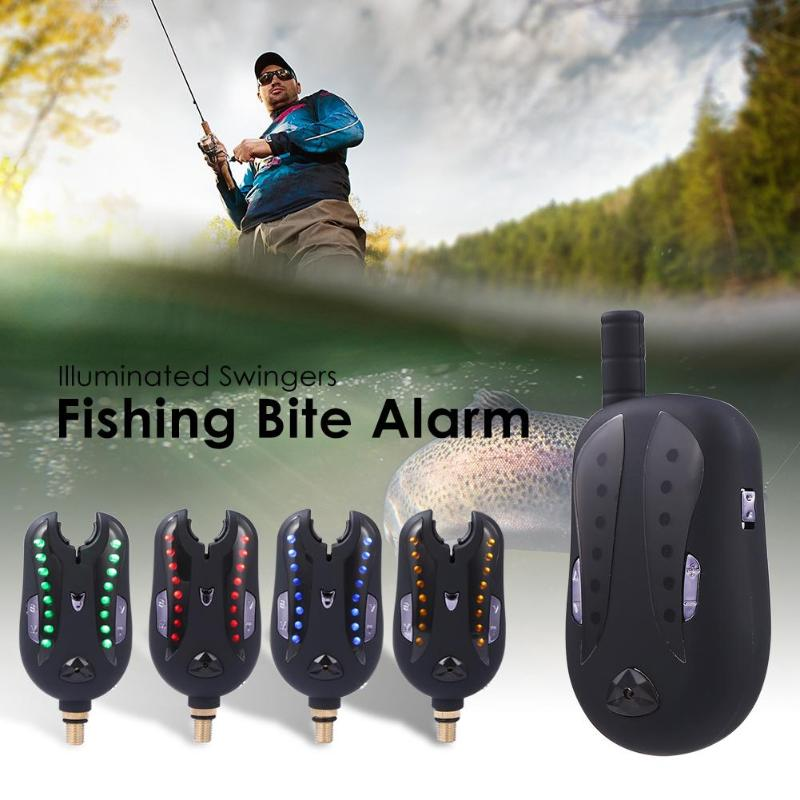 Waterproof Fishing Bite Alarm Wireless Bite Alarm Indicator Adjustable Tone Volume Sensitivity Sound Fishing Tool