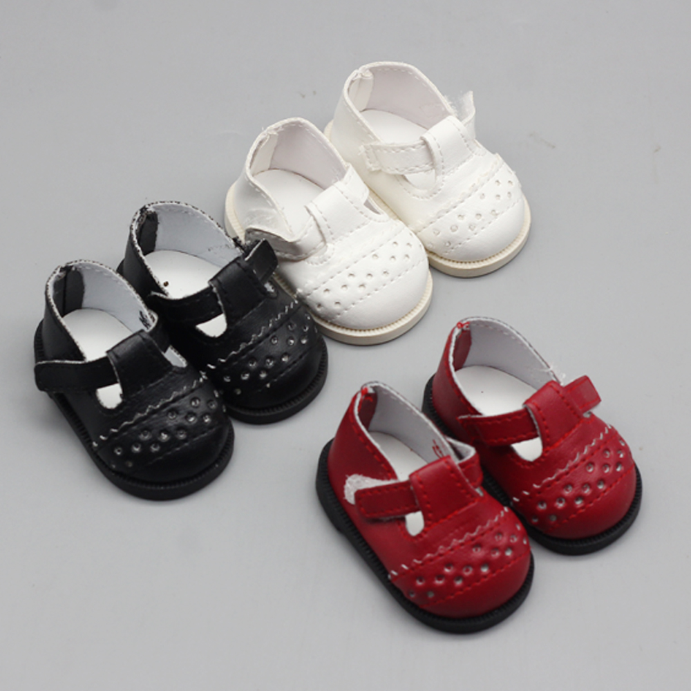 1Pair Hot New Style Dolls Shoes For 1/4 16 Inch Salon Baby Shoes 6.5*2.8cm