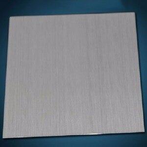 Image 2 - Najnowszy 304 ze stali nierdzewnej dobrze polerowana blacha ze stali nierdzewnej 0.5*100*100mm