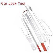 9 unids/set Universal automotriz de emergencia abrir herramientas de desbloqueo de puerta de coche Kit de herramientas de reparación de Auto cuidado de coche reparación de coches herramienta