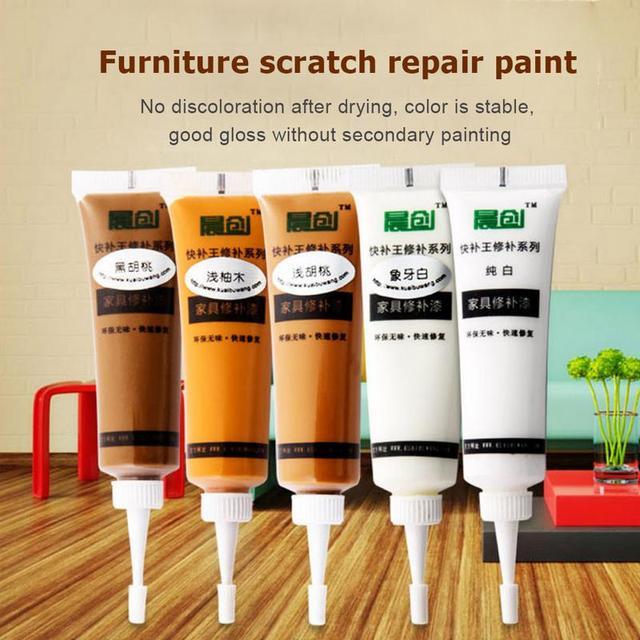 Solid Wood Furniture Refinishing Paint Floor Color Paste Repair Pen Divine Furniture Refinishing Paint 2.8cm X 10.5cm