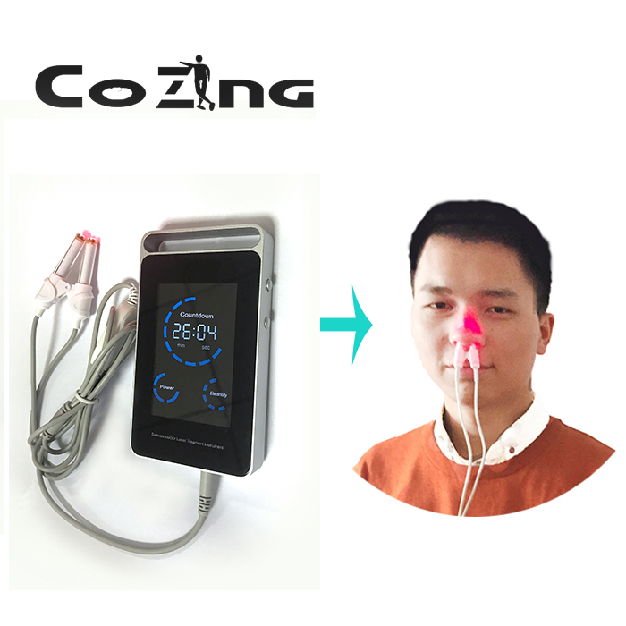 COZING Rhinitis cautery to radiofrequency inferior turbinate reduction laser acupoint massager