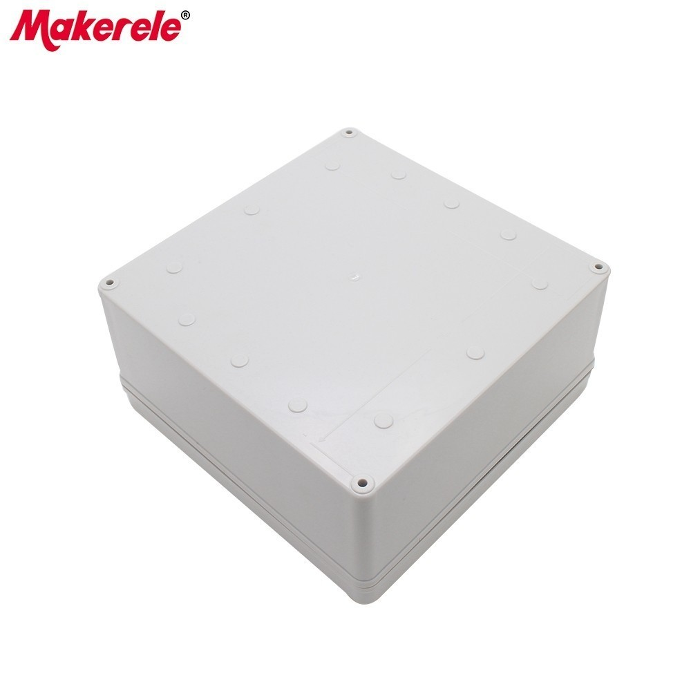 IP65 Waterproof Junction Boxes For Electronics Electro Project Enclosure ABS Connection Box Outdoor Electrical Socket Box 1pcs universal waterproof abs plastic 318x236x155mm junction box project enclosure diy outdoor electrical connection cable box