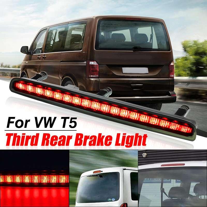 LED Car Third Brake Light High Auto Level Rear Brake Light High Mount Stop Lamp For VW 03-15 Transporter Multivan Caravelle T5