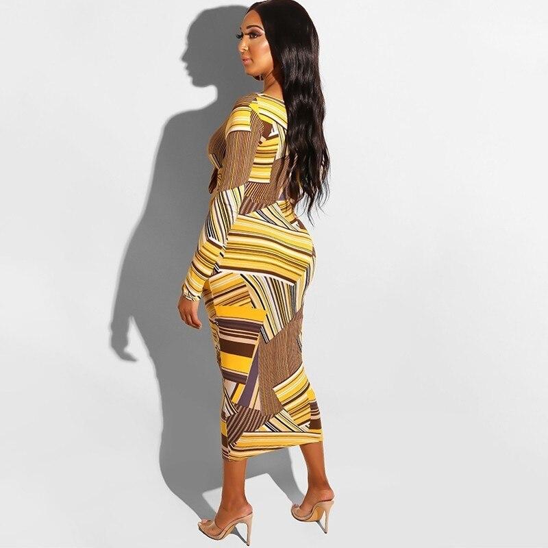 d70ceb8a9d2 MIRSICAS 2019 Off Shoulder Bow Tie Vintage Dresses Sexy Bodycon Midi Dress