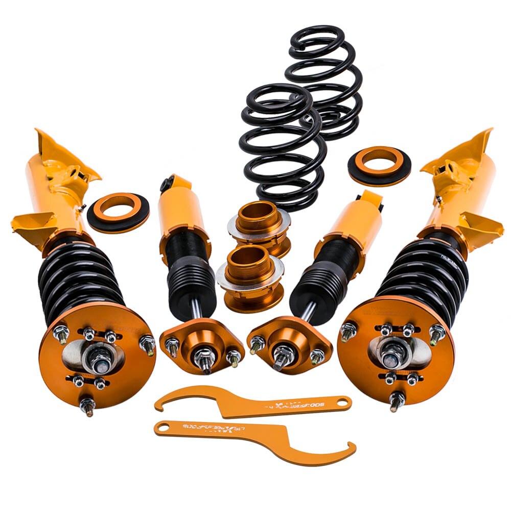 Da corsa Adj Ammortizzatore Coilovers Kit di Sospensione Ammortizzatore per BMW E36 93-99 3 Serie M3 per 323is 325i 325is 325ic 328i 328is Primavera