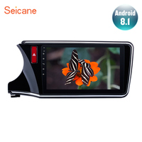 Seicane 2Din Android 8.1 10.1 GPS Car Radio Audio Stereo Multimedia Player For 2014 2015 2016 2017 Honda CITY Left Hand Drive