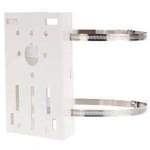 Image 1 - دعامة حلقية لتثبيت عمود/عمود معدني 20 سنتيمتر ركن PTZ لكاميرا CCTV الأمنية