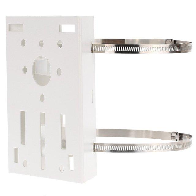 Metall Pole/Spalte Montieren Schleife Halterung 20CM PTZ Ecke für CCTV Sicherheit Kamera