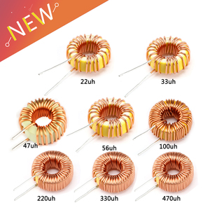 5pcs Toroid Inductor 3A Winding Magnetic Inductance 22uH 33uH 47uH 5647uH 100uH 220uH 330uH 470uH Inductor For LM2596(China)