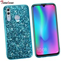 Fashion Glitter Case For Huawei honor 10i 6.21inch Phone Cases Shinning Bling Sequins Back Cover for 10 i 20i