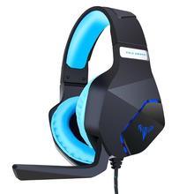 Alloyseed Bantalan Permainan Menggunakan G600 Gaming Headset Headphone dengan Lampu MIC Stereo Bass Earphone Audio & Video Aksesoris