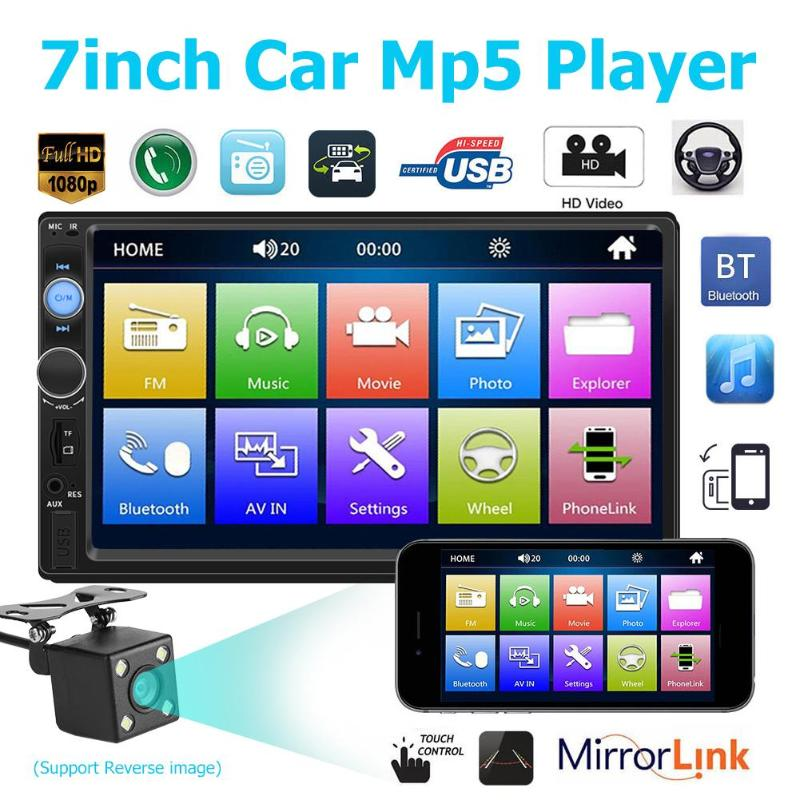 VODOOL 7010B 2 din Android Car Multimedia Player Autoradio 2Din Stereo 7 Touch Screen Video MP5
