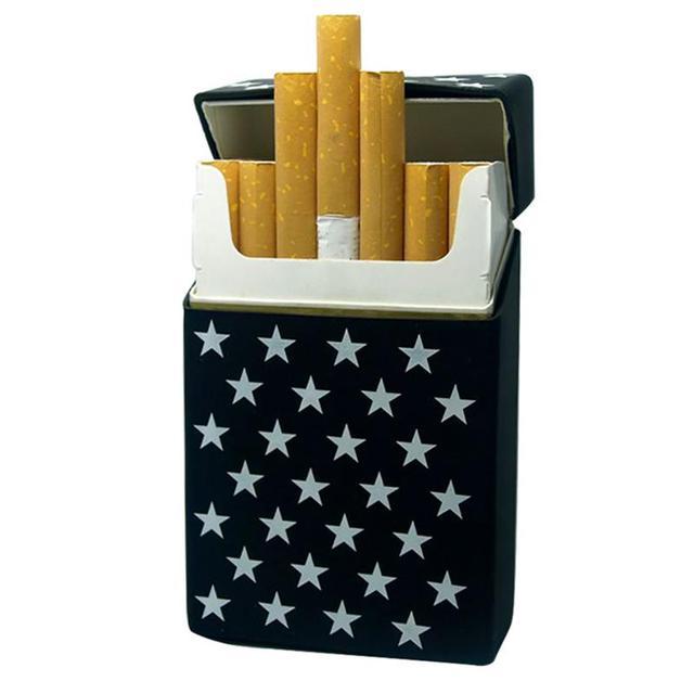 Женский силиконовый чехол для портсигара для мужчин Подарочная коробка рукав курительная сигарета коробка карманные сигареты пакет Обложка подарок на день рождения