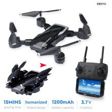 LF609 2.4Ghz 4CH Fold Drone RC Altitude Hold Headless Mode One Key Return Quadcopter RTF Helicopter