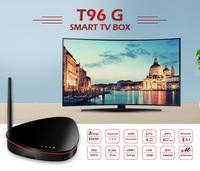 T96G Android 7.1 4G LTE TV Box S905W Quad core 2GB 8GB Set Top Box Bluetooth 4.1 5G Wifi 100M LAN Smart TV Box Media Player