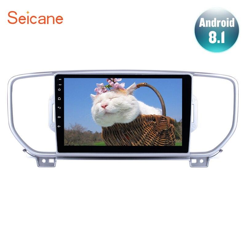 Seicane Android 7.1/8.1 Car Stereo for Kia KX5 Spotage 2016-2017 Head Unit Navi Player with Bluetooth USB AUX 9 inch GPS RadioSeicane Android 7.1/8.1 Car Stereo for Kia KX5 Spotage 2016-2017 Head Unit Navi Player with Bluetooth USB AUX 9 inch GPS Radio