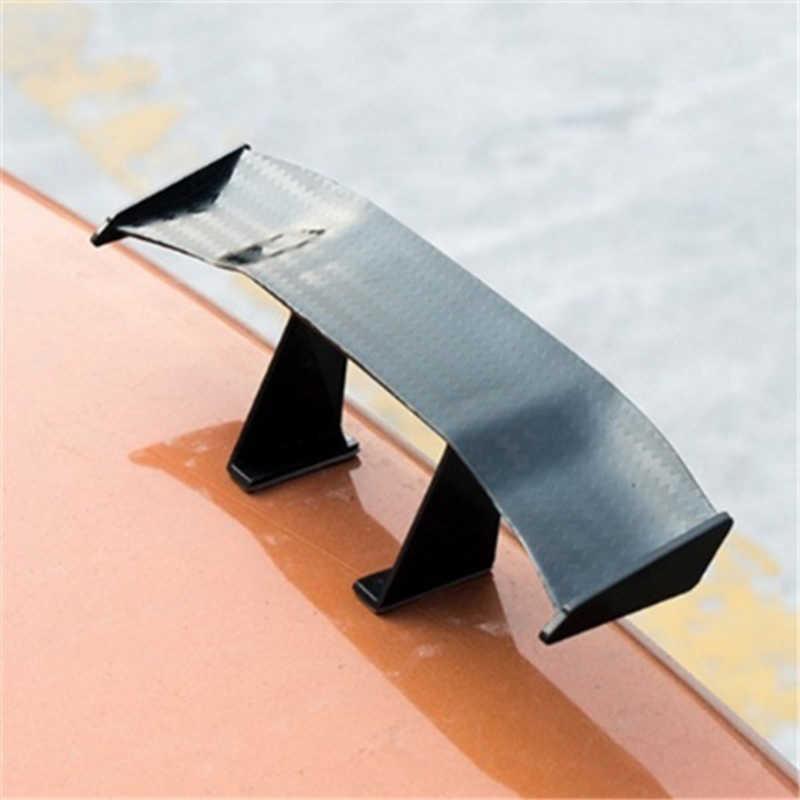 Авто запчасти изменение мини черный спойлер личность декоративные спойлер хвост украшения