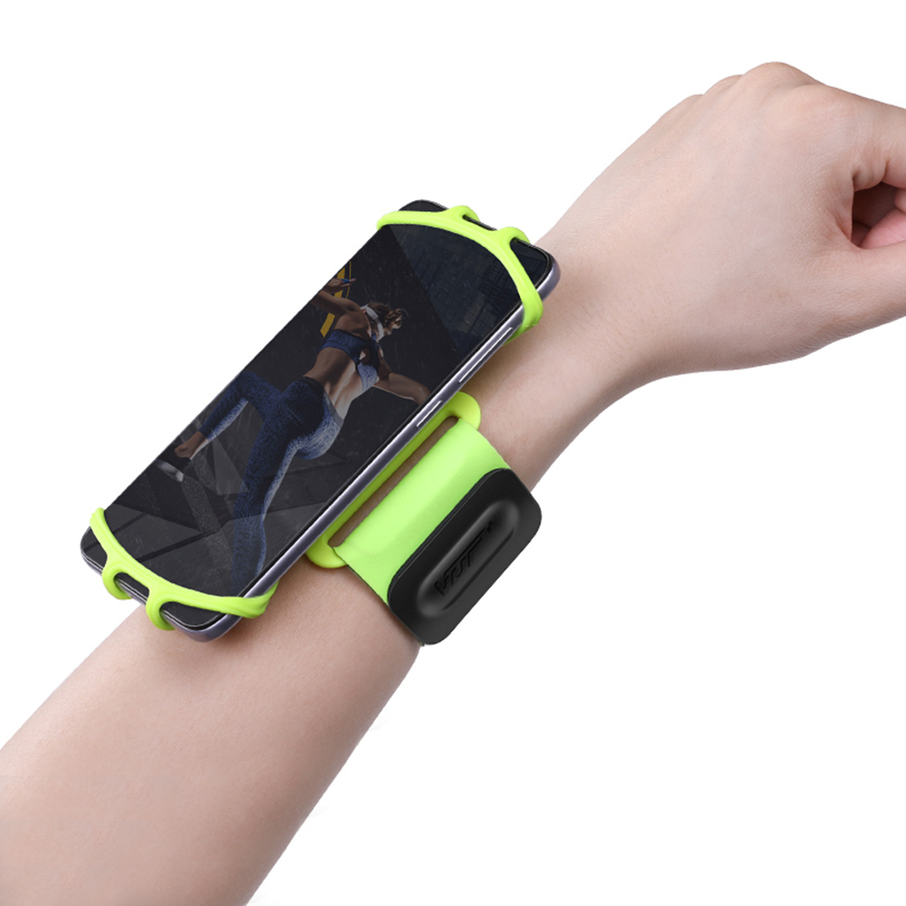 Adjustable Sporting Armband Breathable Sweat-proof Cell Phone Armband For Screen Size Between 5.3-8.5in Walking Wrist Band