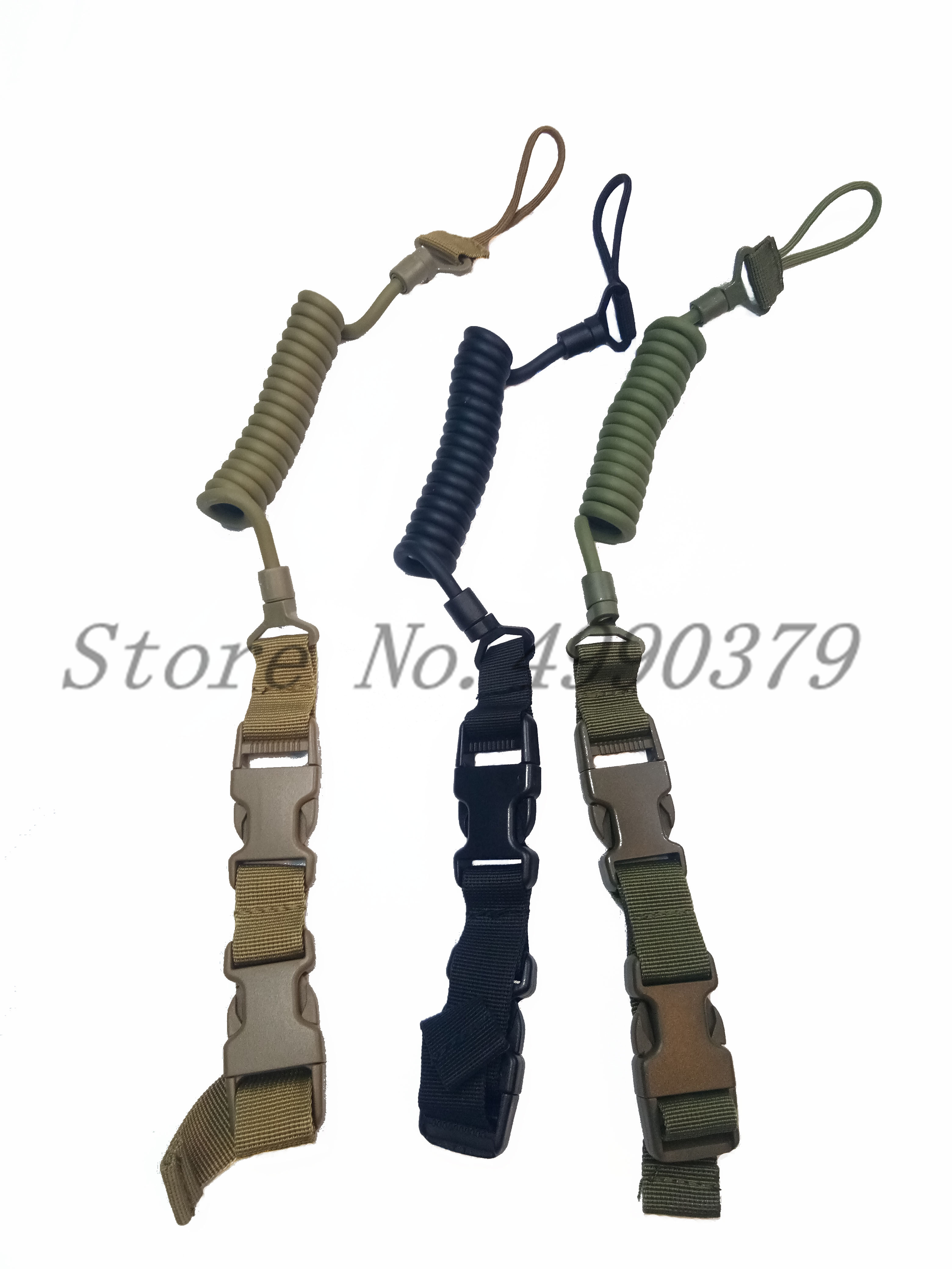 Image 2 - Tactical Two Point Rifle Sling Adjustable Bungee Tactical Airsoft Gun Strap System Paintball Gun Sling for Airsoft Hunting New-in Hunting Gun Accessories from Sports & Entertainment