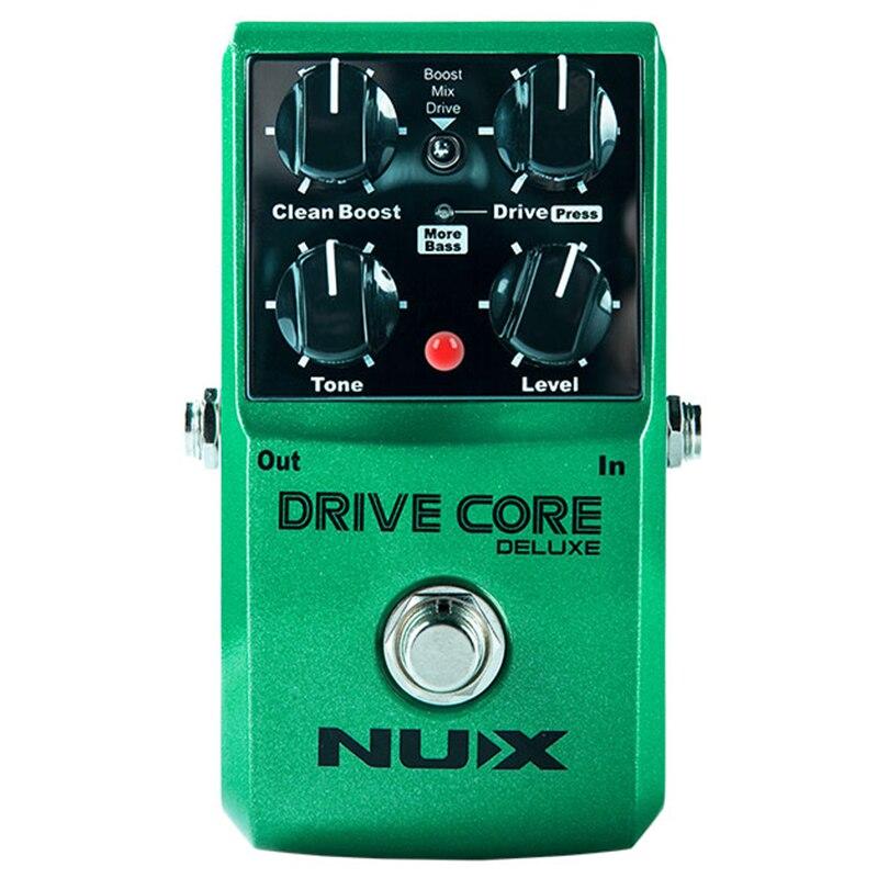 NUX amélioré Drive Core Deluxe Overdrive effets de guitare Blues Overdrive pédale drive booster pédale de guitare