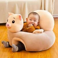 Cartoon Animal Baby Seats Sofa Support Seat Baby Plush Support Chair Learning To Sit Soft Plush Toys Travel Car Seat For Baby