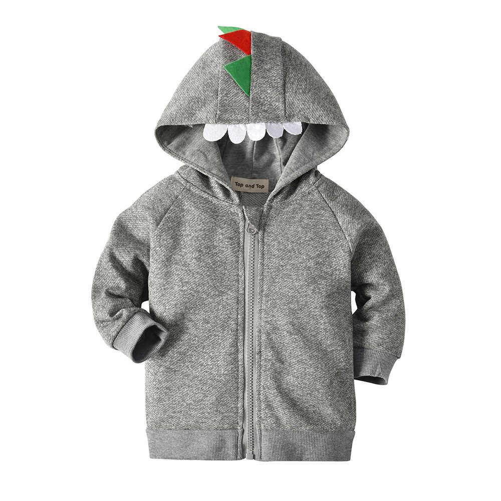 Детская куртка с капюшоном свитер с капюшоном для мальчиков хлопковая Детская толстовка с капюшоном и длинными рукавами на молнии топы для маленьких мальчиков, верхняя одежда тонкая куртка, пальто