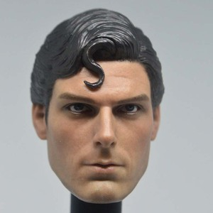 Image 3 - Mnotht Toy 1/6 Scale DC Superman Clark Kent Head Sculpt For Hot Toys Body action figure toys collections