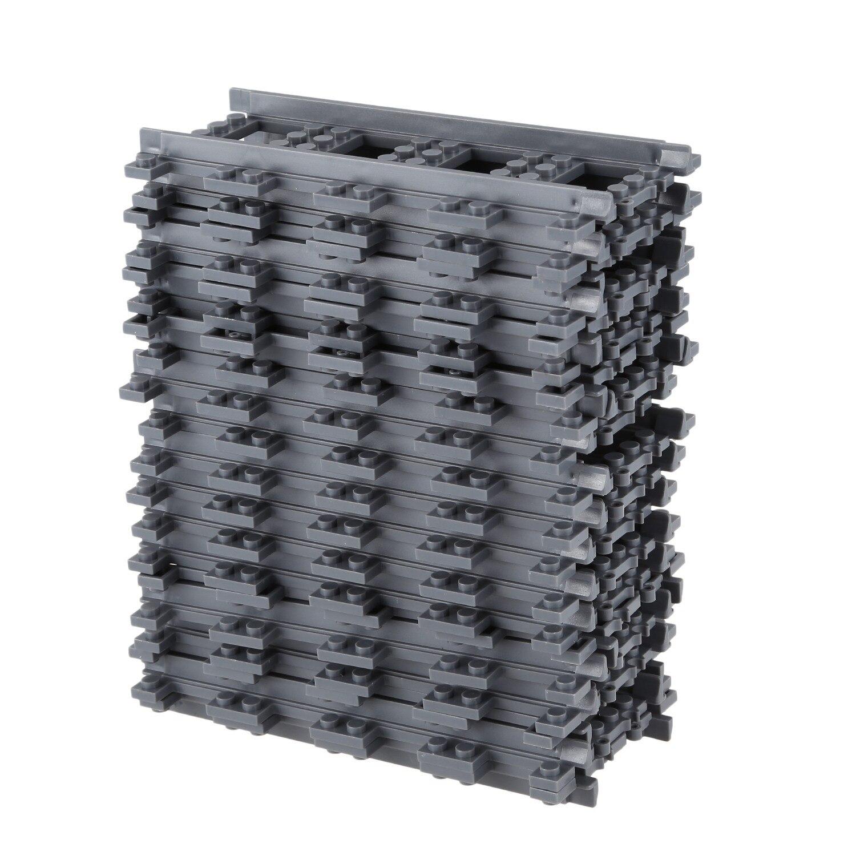 Sammeln & Seltenes 20 Pcs/pl Städtischen Eisenbahn Track Linear Und Track Block Modell Kinder Spielzeug Block Gebäude & Konstruktionsspielzeug